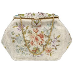 French Beaded Bag