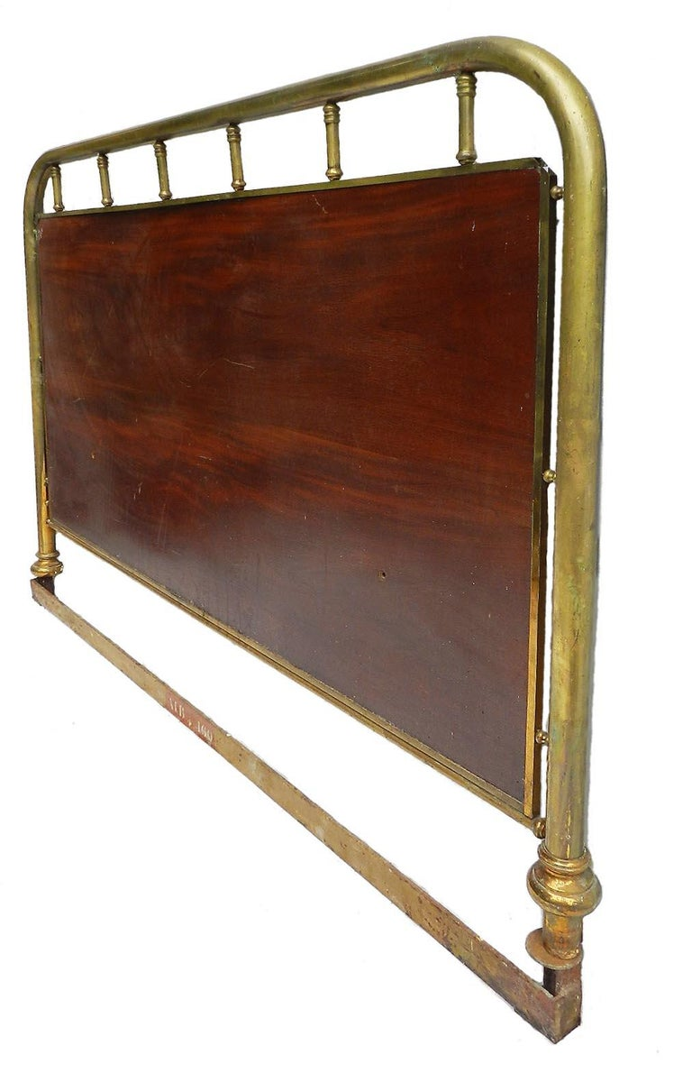 French Bed Headboard Br Wood Us Queen Uk King Size Circa 1900