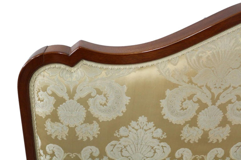 French Bed Headboard Super King to Customize Price Includes Recovering Louis Rev In Good Condition For Sale In , South West France