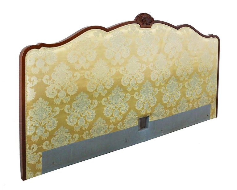 Upholstery French Bed Headboard Super King to Customize Price Includes Recovering Louis Rev For Sale