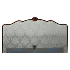 French Headboard Super King to Customize Price Includes Recovering Louis Rev