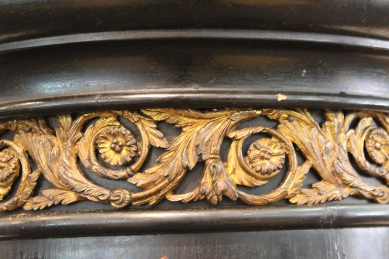 French Belle Époque Ebonized Wood Column Pedestal with Ormolu Detailing For Sale 4