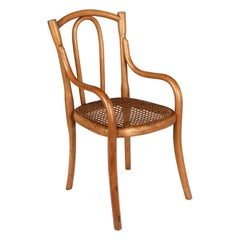French Bentwood Thonet Style Miniature Chair