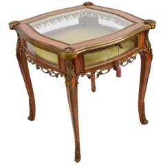 French Bijouterie / Display Table, circa 1920