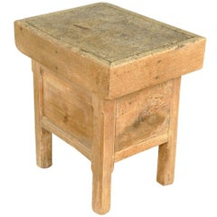 French Billot, Side Table