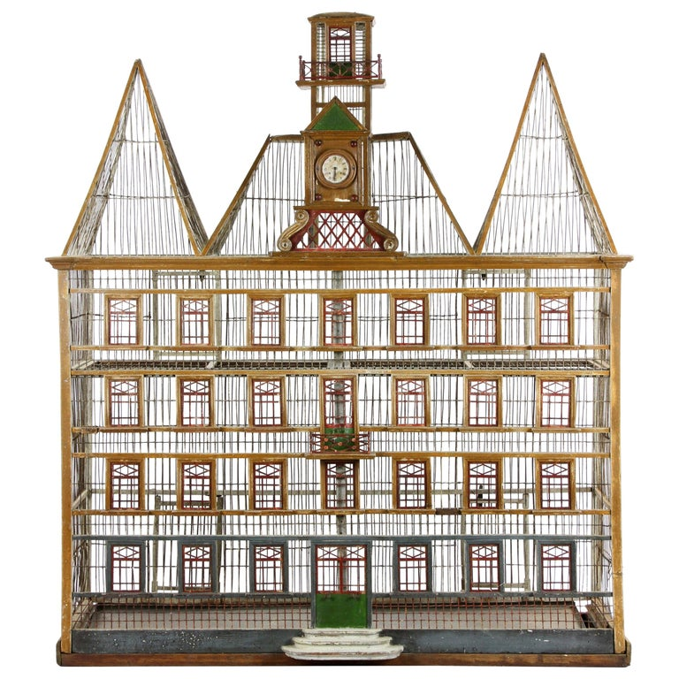 French Bird House Two-Level For Sale