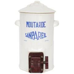 French Bistro Mustard Dispenser
