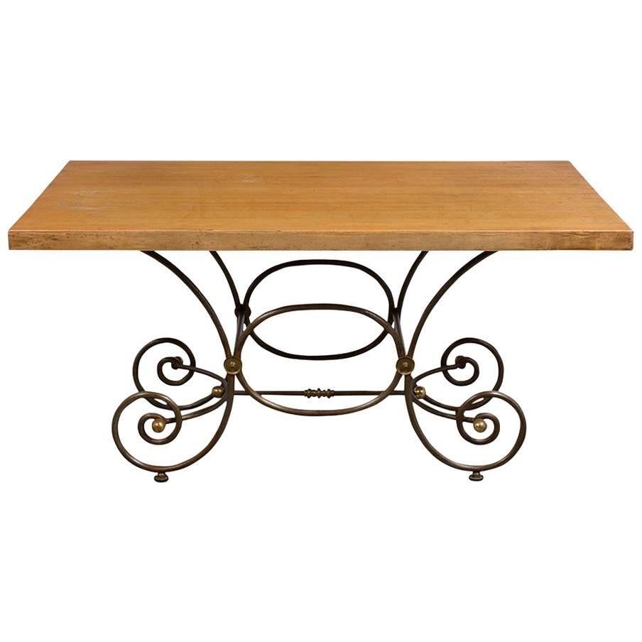 Image of: Mid Century Bistro Table At 1stdibs