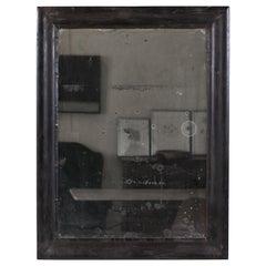 French Black Framed Mirror