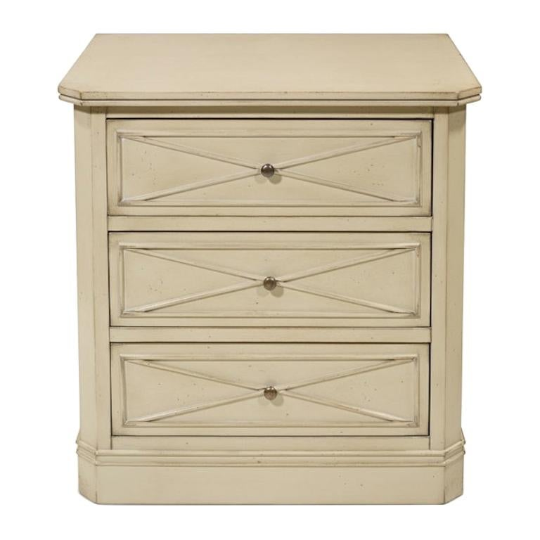 French Blow Bedside Table, 20th Century