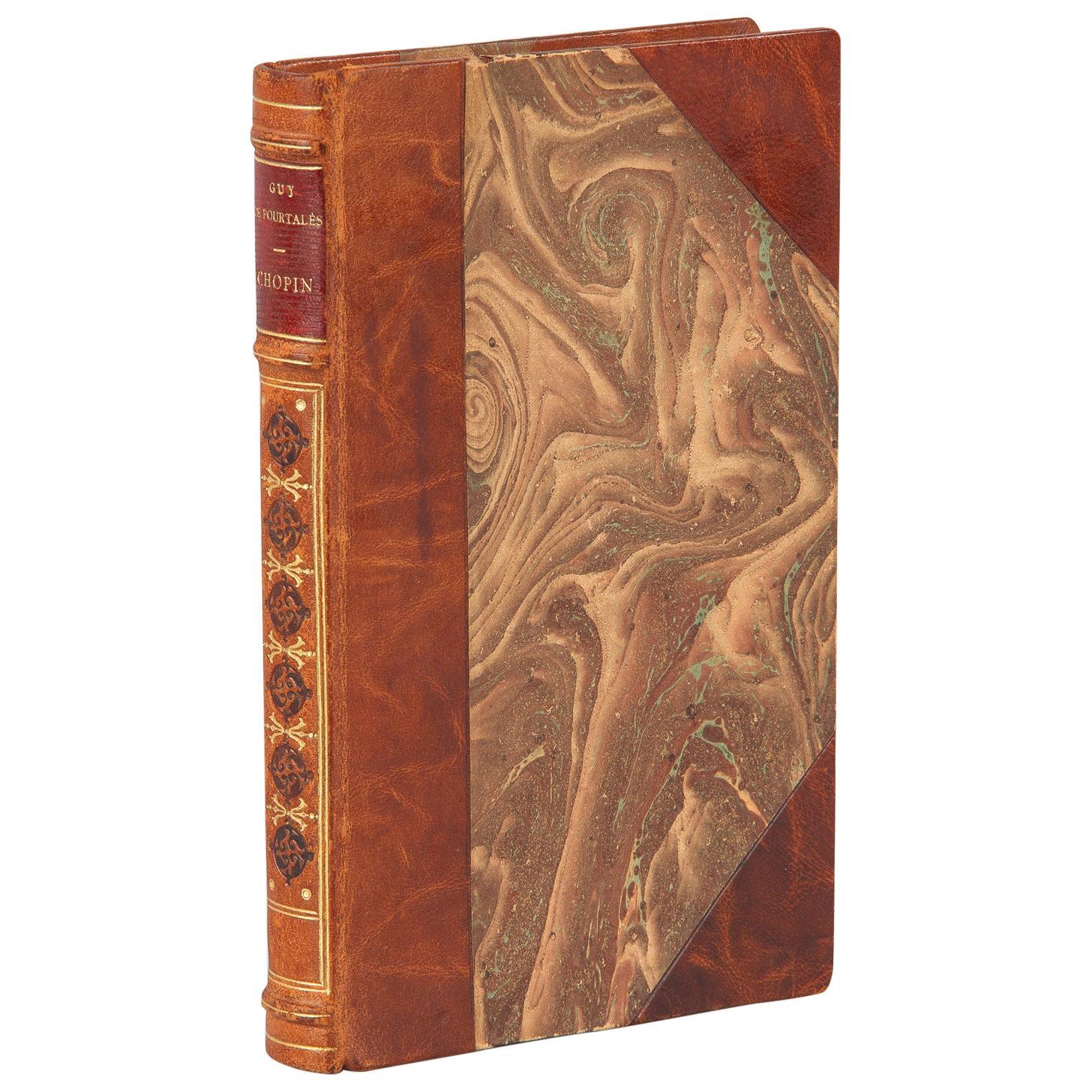 French Book, Chopin ou Le Poete by Guy de Pourtales, 1927