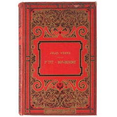 French Book, Jules Verne - P'tit Bonhomme, 1931