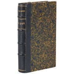 French Book- Le Feu - Journal d'une Escouade by Henri Barbusse, 1917