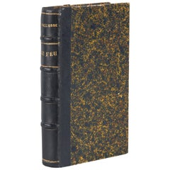 French Book, Le Feu, Journal d'une Escouade by Henri Barbusse, 1917