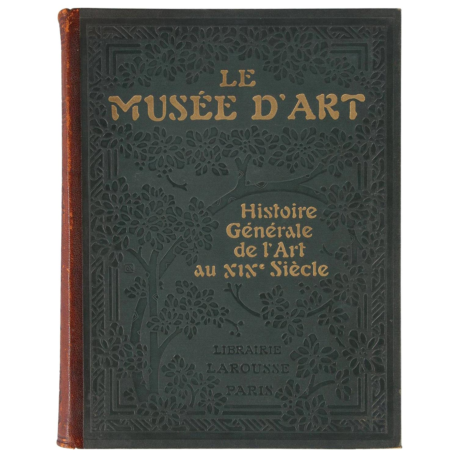 French Book, Le Musee d'Art, 1920s