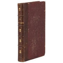 French Book, Le Petit Comte by Ouida, Paris, 1884