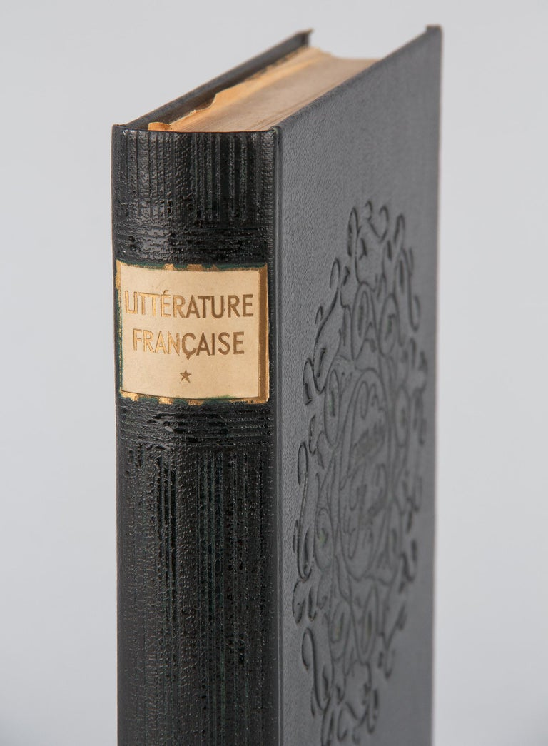 Mid-20th Century French Book Literature Francaise, Larousse Editions, 1948