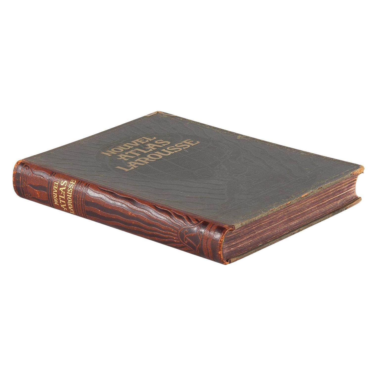 French Book Nouvel Atlas Larousse, 1924