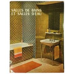 French Book on Bathroom Interiors, 1965 'Salles de Bains et Salles D'Eau
