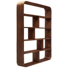 French Bookcase in Bamboo