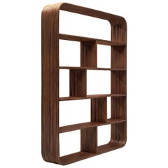 French Bookcase in Bentwood