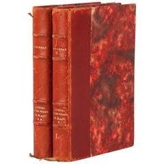 French Books, Journal d'Une Femme en Blanc, 2 Volume by Andre Soubiran, 1964