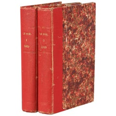 French Books, Le Noel, Two Volume Set, 1929