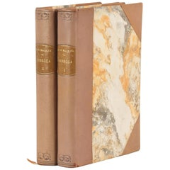 French Books, Rebecca by Daphne du Maurier, 2 Volumes, 1946