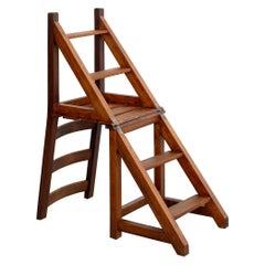 French Bookstore Chair Ladder