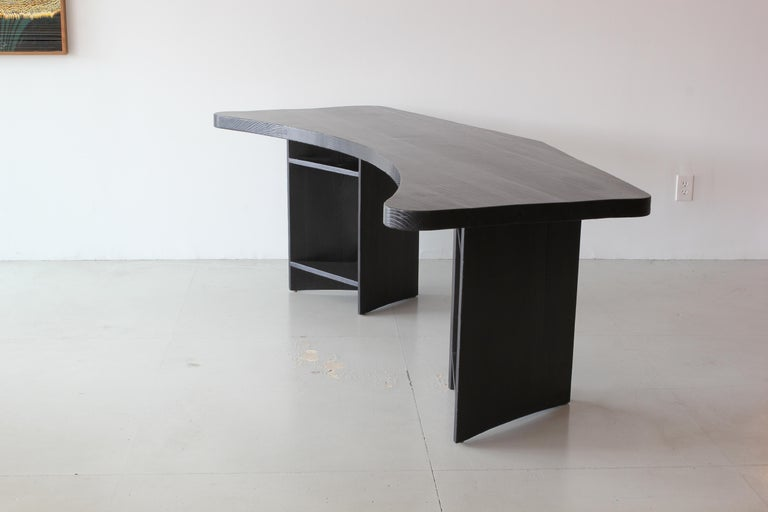 Mid-20th Century French Boomerang Desk in Style of Chapo For Sale