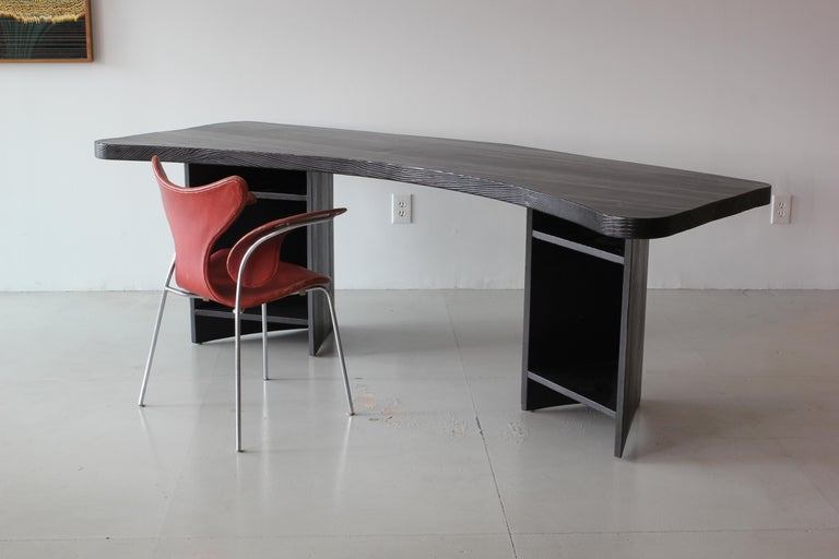 French Boomerang Desk in Style of Chapo For Sale 2