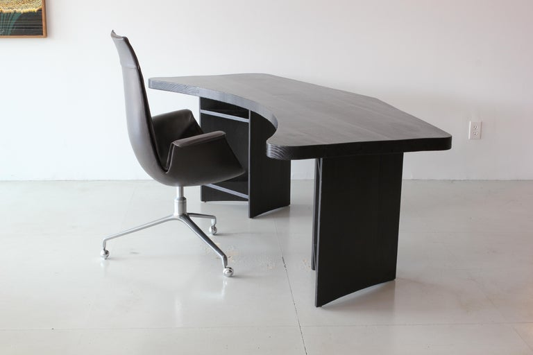 French Boomerang Desk in Style of Chapo For Sale 3