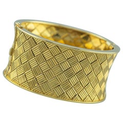 French Bracelet 18 Karat Yellow Gold, 1960s