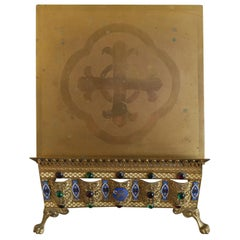French Brass Adjustable Bible Stand