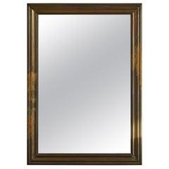 French Brass Bistro Mirror