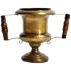 French Brass Cup with Handles