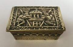 French Art Deco Bronze Jewelry Box by Max Le Verrier