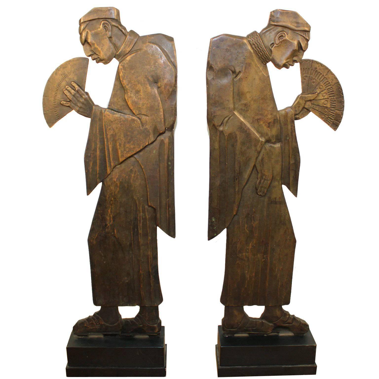 Art Deco Angel Sculpture \