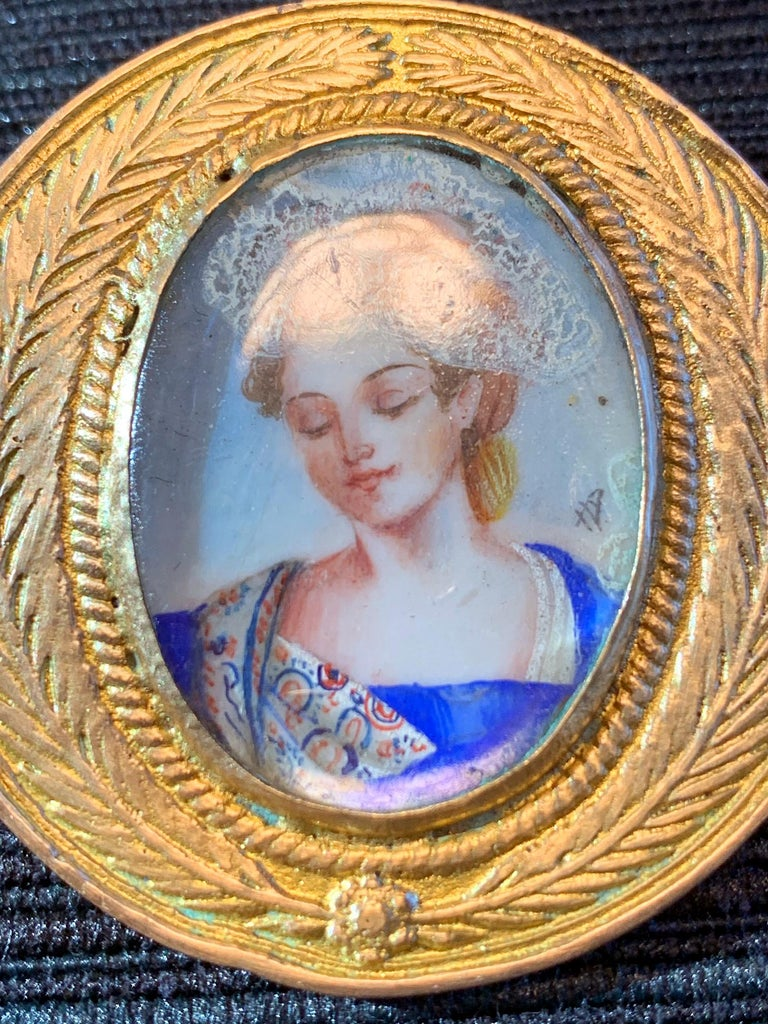 French Bronze Brooch Line Vautrin For Sale 1