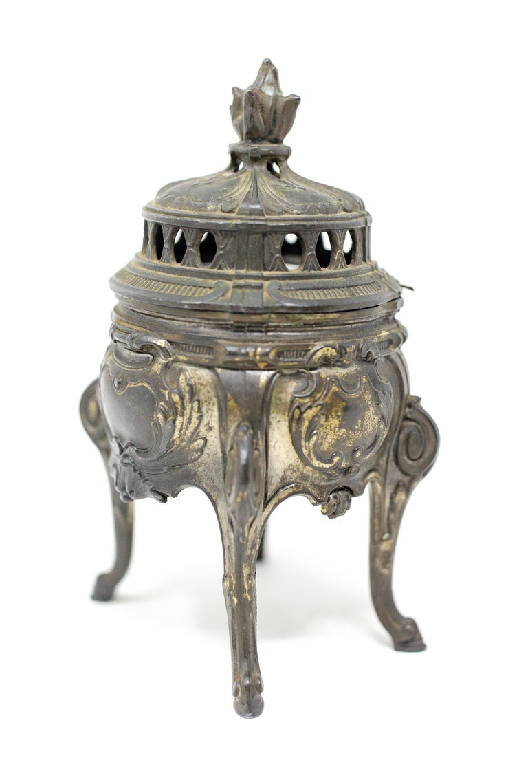 French Bronze Censer For Sale 4