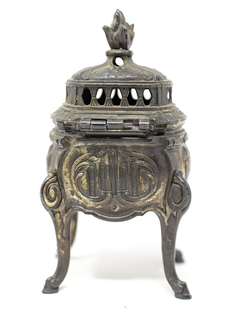 French Bronze Censer For Sale 1