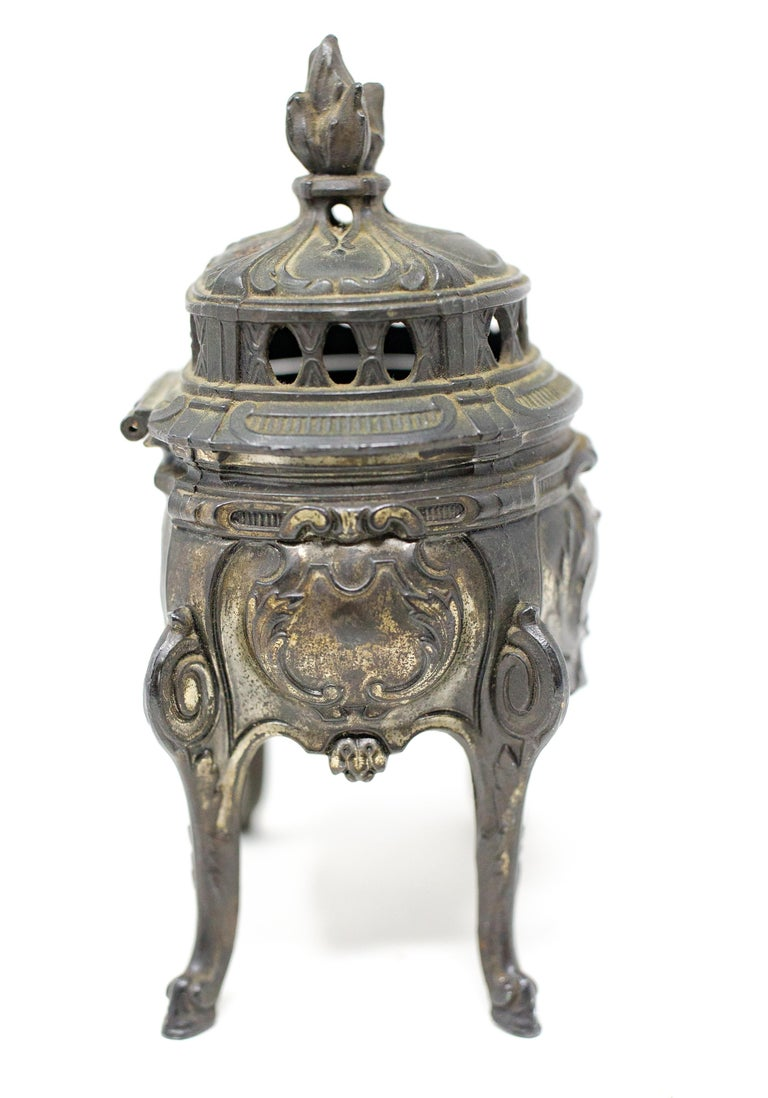 French Bronze Censer For Sale 3