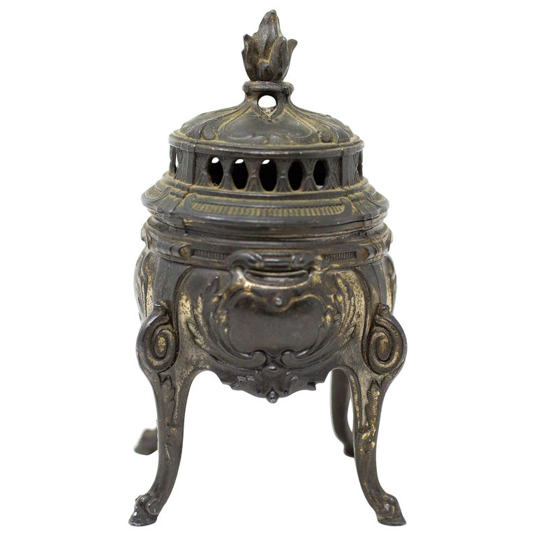 French Bronze Censer For Sale