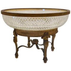 French Bronze Mounted Center Bowl