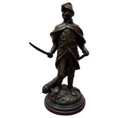 French Bronze Napoleon Casting Signed Boucher, 20th Century