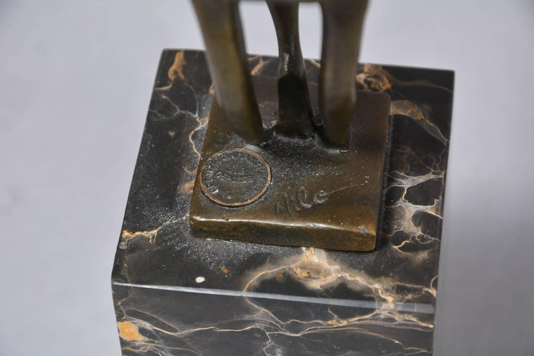 Late 20th Century French Bronze Sculpture For Sale