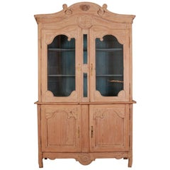 French Buffet de Corps / Display Cupboard