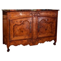French Buffet in Burled Elm