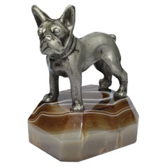 French Bulldog Paperweight, Japan