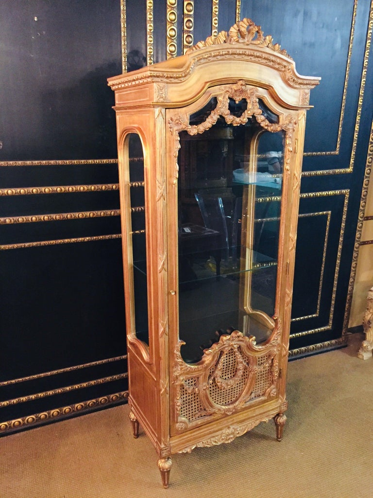 French Cabinet in Louis XVI Style For Sale 4